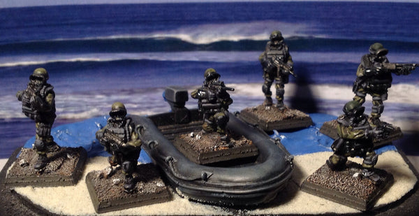 (100MOD001) 28mm NATO Special Forces Frogmen