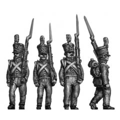 (AB-NED25)  Dutch-Belgian/Chasseur/jager, flank marching