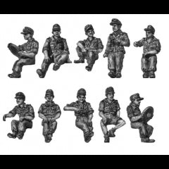 (SPG71) NEW Seated figures for softskins & halftracks
