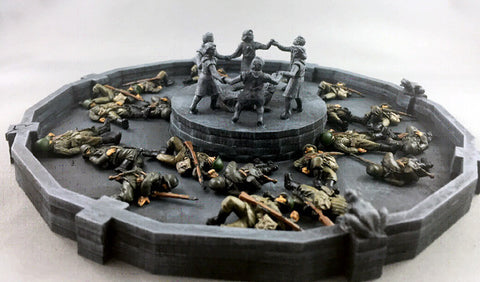 (100WWT020) Stalingrad Children's Fountain