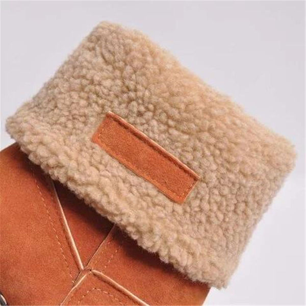Women Winter Fur Ankle Booties
