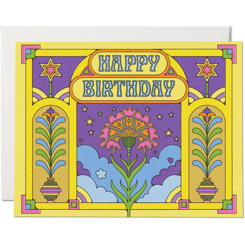 Load image into Gallery viewer, HAPPY COLORS BIRTHDAY CARD