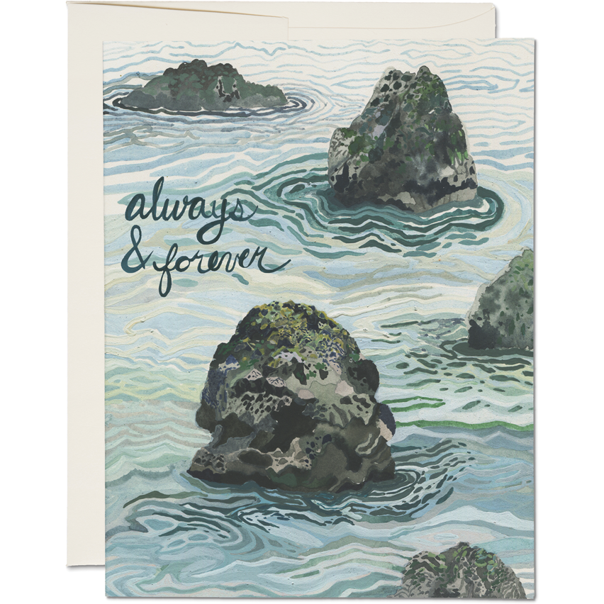 Load image into Gallery viewer, OCEANS ALWAYS & FOREVER CARD