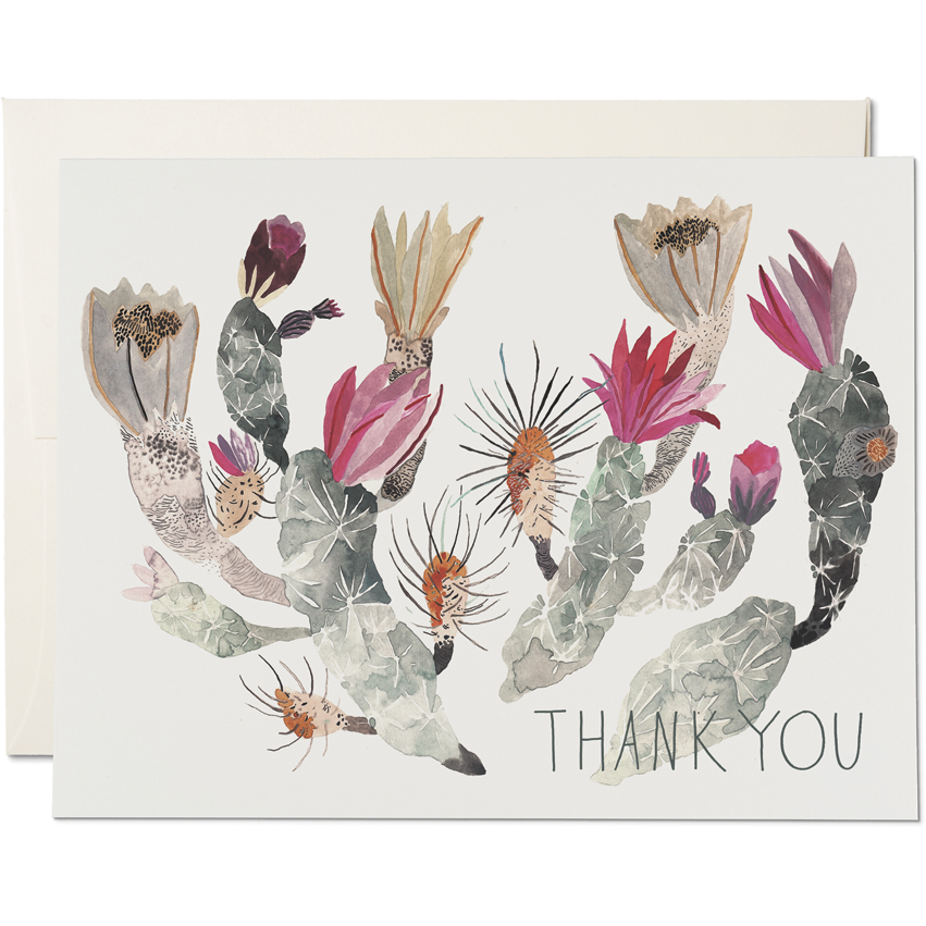 Load image into Gallery viewer, CALIFORNIA CACTUS THANK YOU CARD