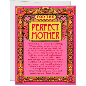 PERFECT MOTHER CARD