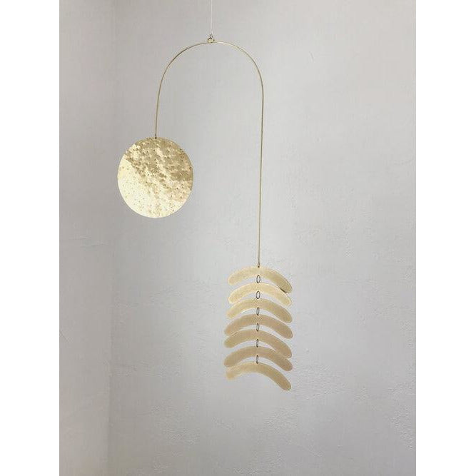 "Load image into Gallery viewer, ""Cascading Arches"" Wall Hanging/ Kinetic Sculpture Combo"