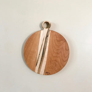 Load image into Gallery viewer, Small Handled Cutting Board