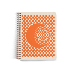 Checker Moon Dot Journal