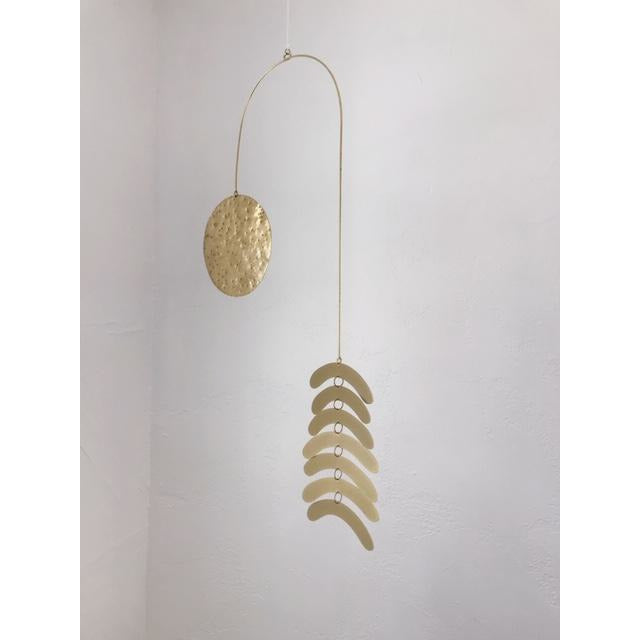 """Cascading Arches"" Wall Hanging/ Kinetic Sculpture Combo"