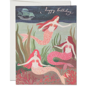 Load image into Gallery viewer, MERMAIDS BIRTHDAY CARD