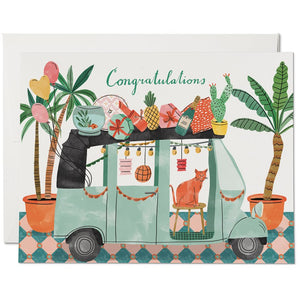 PARTY TUKTUK CONGRATS CARD