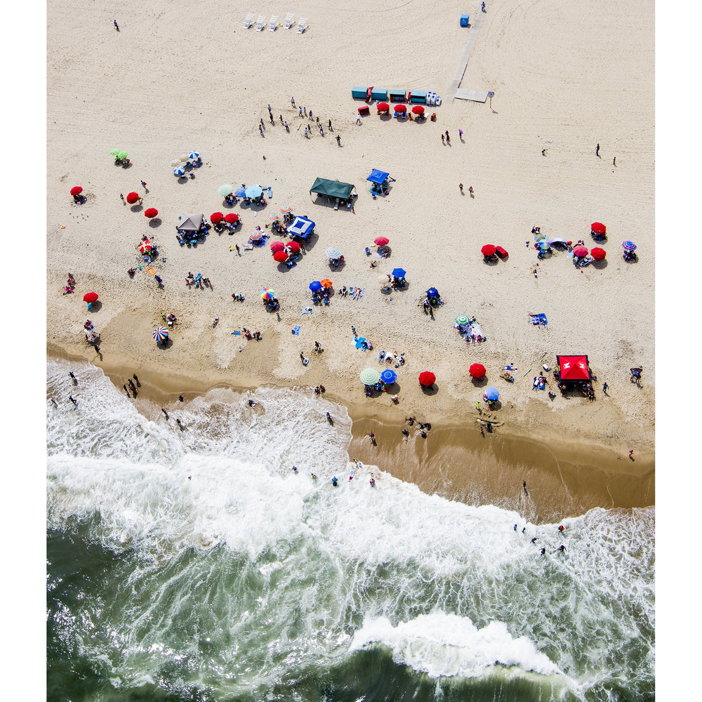 Gunner Hughes 'Ocean City Maryland' Print