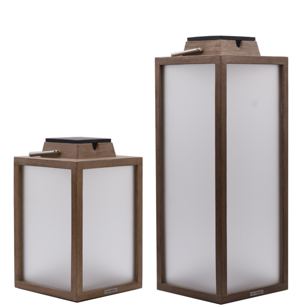 Load image into Gallery viewer, Tradition Solar Lantern Tall