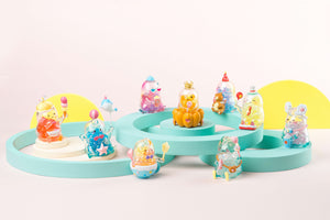 SIMONTOYS MUKAMUKA(ムカムカ) SUMMER FUNFAIR BLIND BOXシリーズ【8個入りBOX】 - tretoy(トレトイ)