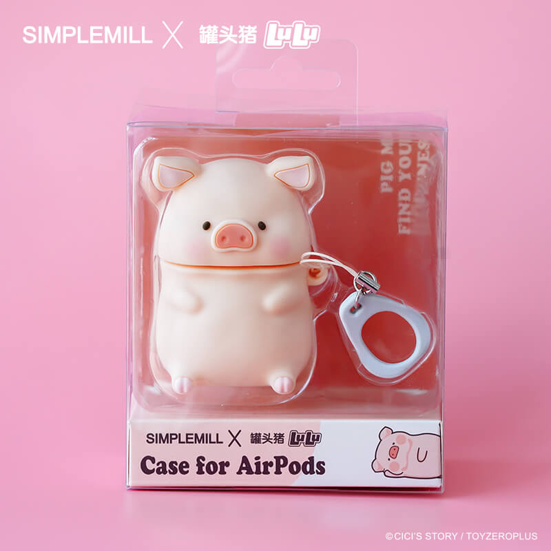 LULU x SIMPLE MILL LULU Pig AirPodsケース - tretoy(トレトイ)