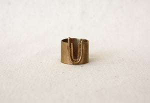 Louie Jewelry - Geo Canyon Ring
