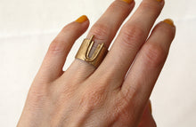 Load image into Gallery viewer, Louie Jewelry - Geo Canyon Ring