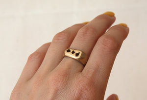 Louie Jewelry - Geo Shapes Ring