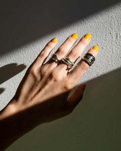 Louie Jewelry - Double U Ring