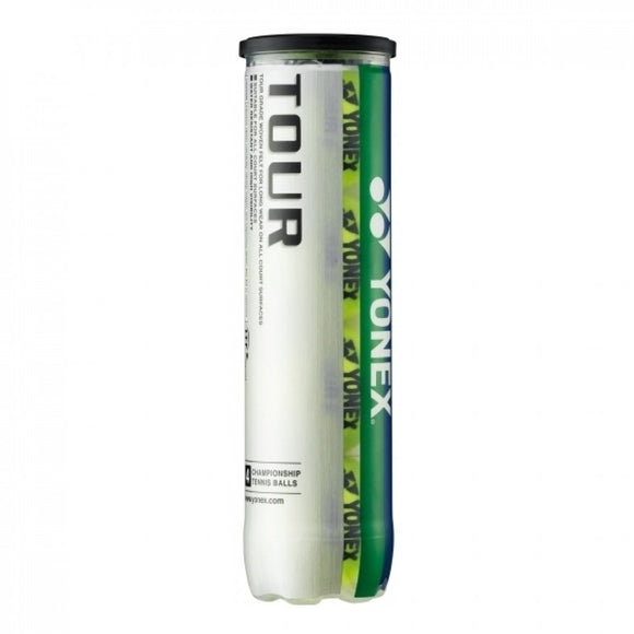 SINGLE CAN OF 4 YONEX TOURNAMENT BALLS