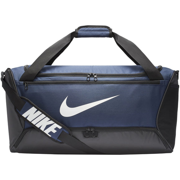 NIKE BRASILIA MEDIUM DUFFEL BAG (NAVY)