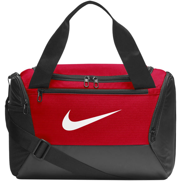 NIKE BRASILIA EXTRA SMALL DUFFEL BAG (RED)