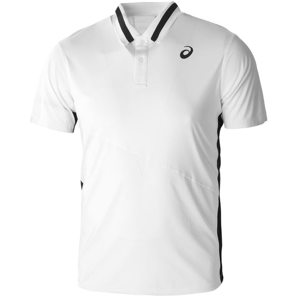 ASICS MEN'S CLUB POLO (WHITE)