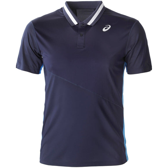 ASICS MEN'S CLUB POLO (NAVY)