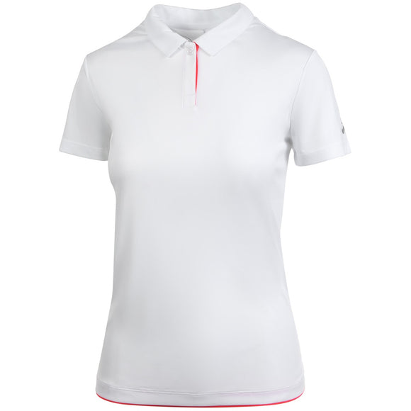 ASICS WOMEN'S PRACTICE POLO (WHITE)