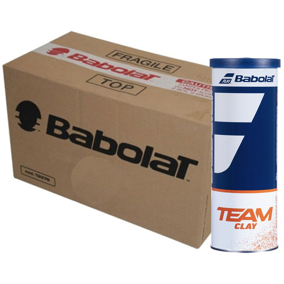 CASE OF 30 CANS OF 3 BABOLAT TEAM CLAY BALLS