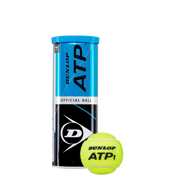 SINGLE CAN OF 3 DUNLOP ATP BALLS