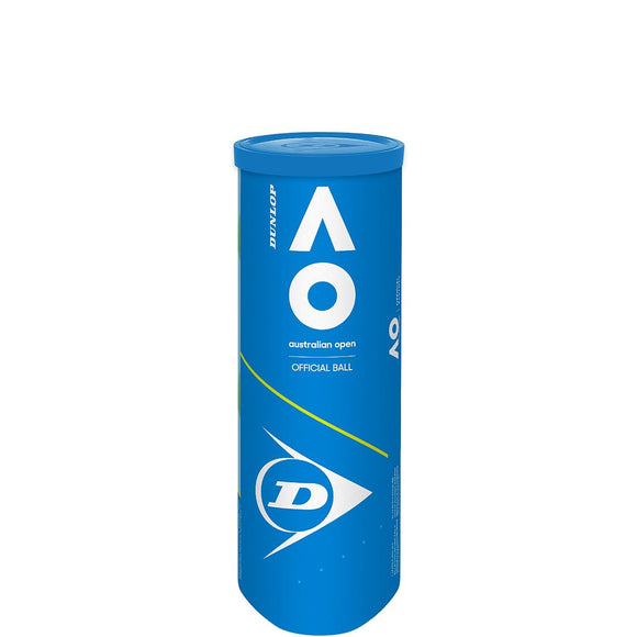 SINGLE CAN OF 3 DUNLOP AUSTRALIAN OPEN BALLS