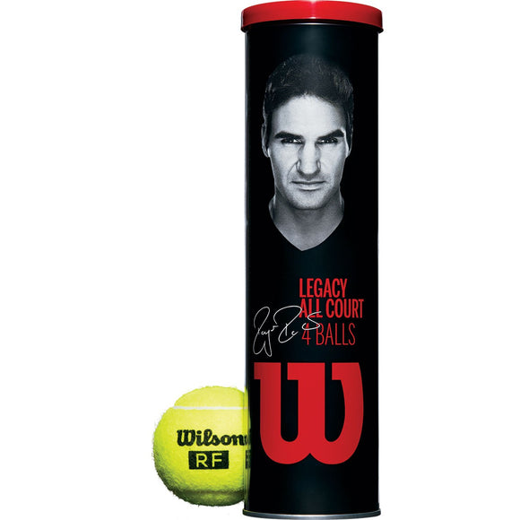 SINGLE CAN OF 4 WILSON RF LEGACY BALLS
