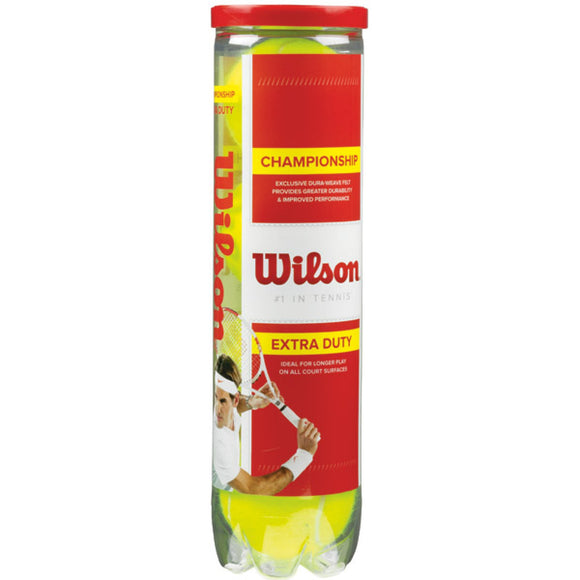 SINGLE CAN OF 4 WILSON CHAMPIONSHIP BALLS