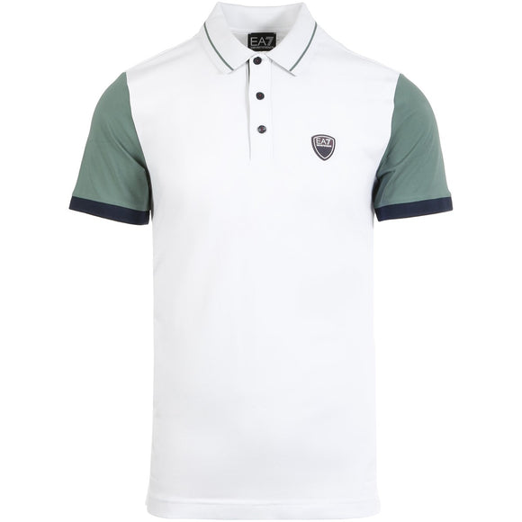 EA7 MEN'S CASUAL SPORTY POLO