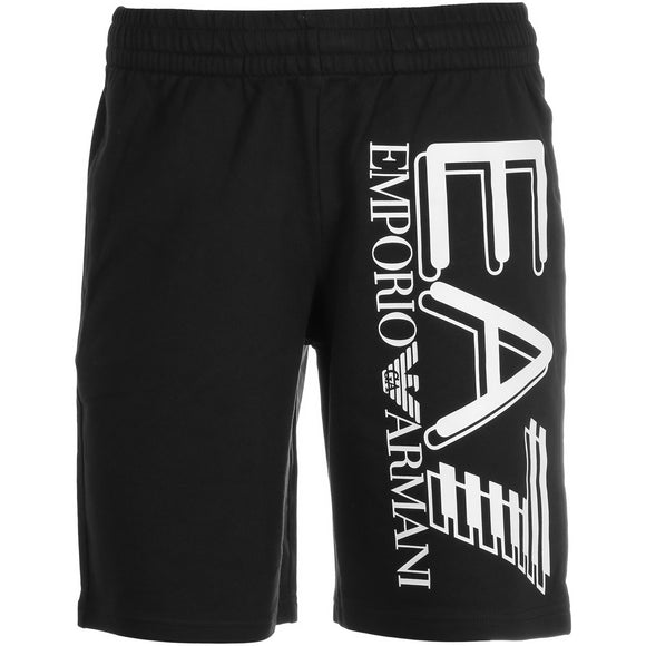 EA7 MEN'S TRAINING FUNDAMENTAL SPORTY LOGO BERMUDA