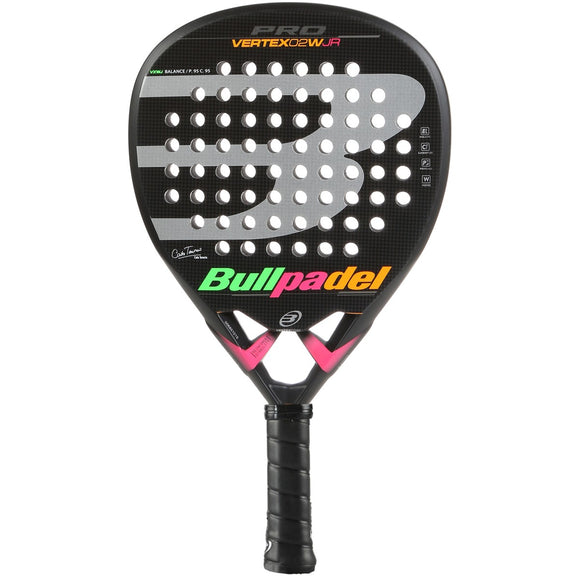 BULLPADEL JUNIOR'S VERTEX 2 PADEL RACQUET