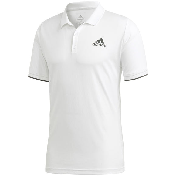 ADIDAS MEN'S FREELIFT POLO (WHITE)