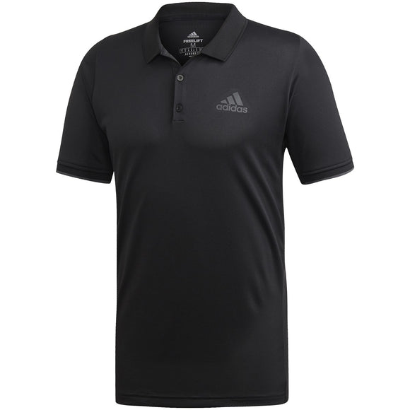ADIDAS MEN'S FREELIFT POLO (BLACK)