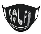 "FACE MASK ""GOLF"" + CLUB"
