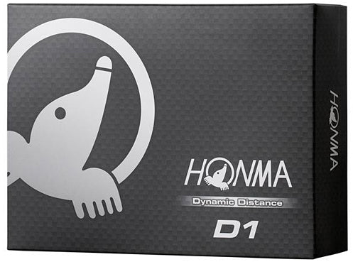 HONMA D1 DYNAMIC DISTANCE GOLF BALL (12 balls)