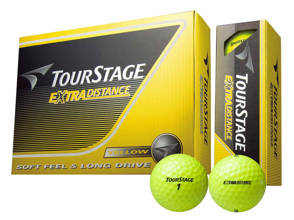 BRIDGESTONE TOUR STAGE EXTRA DISTANCE GOLF BALL (12 balls)