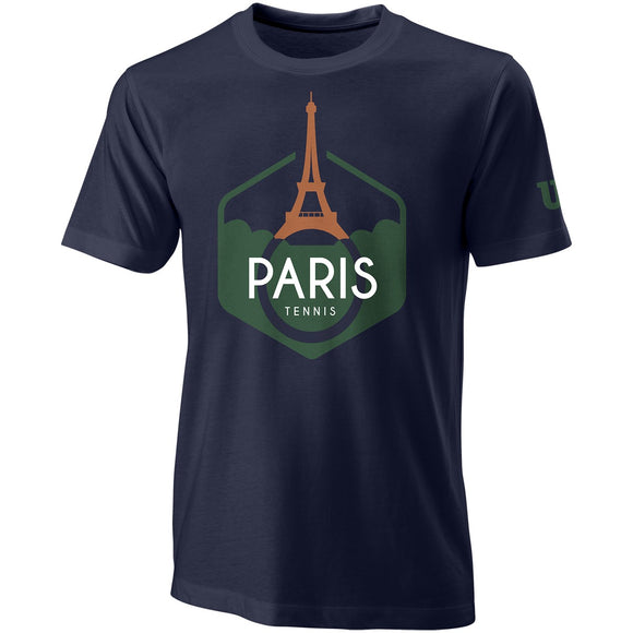 WILSON MEN'S PERFORMANCE PARIS T-SHIRT
