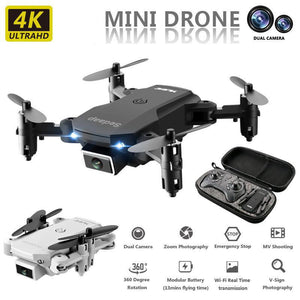 Sedaap Profissional Foldable HD 4K Drone With Camera Mini Optical Flow RC Quadcopter Helicopter
