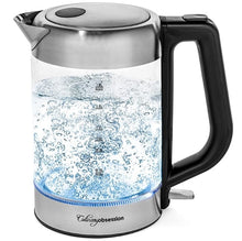 Load image into Gallery viewer, 1.8L Stainless Steel Glass Electric Kettle-6
