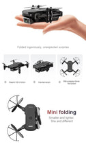 Load image into Gallery viewer, Sedaap Profissional Foldable HD 4K Drone With Camera Mini Optical Flow RC Quadcopter Helicopter