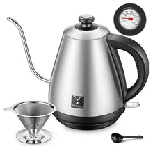 Load image into Gallery viewer, Stainless Steel Quick Heating Water Kettle Teapot-3