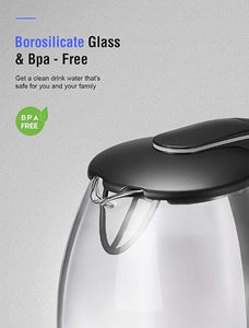 1.8L Fast Boil Cordless Hot Water Kettle with LED Indicator-4