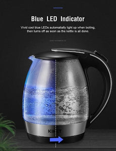 1.8L Fast Boil Cordless Hot Water Kettle with LED Indicator-5