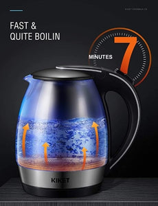1.8L Fast Boil Cordless Hot Water Kettle with LED Indicator-6